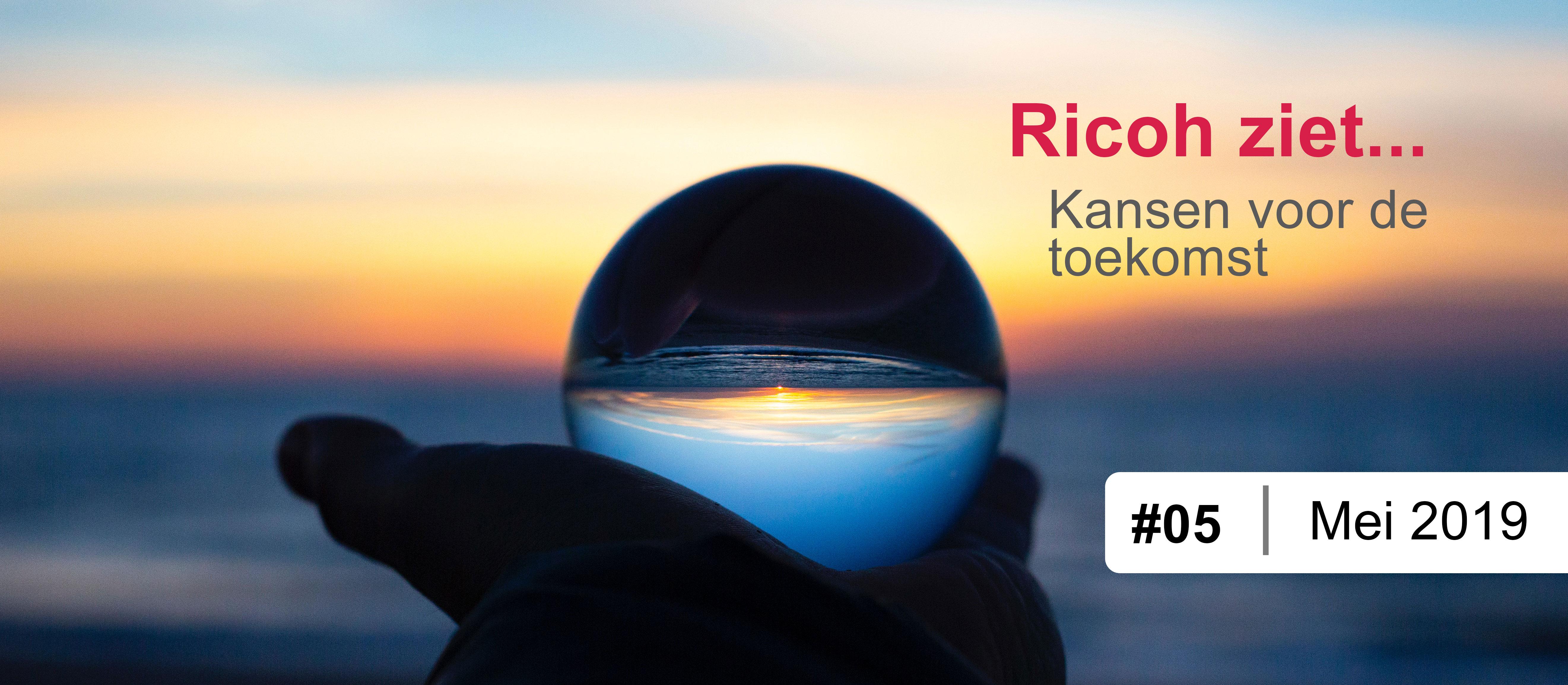 Ricoh ziet impact van delen