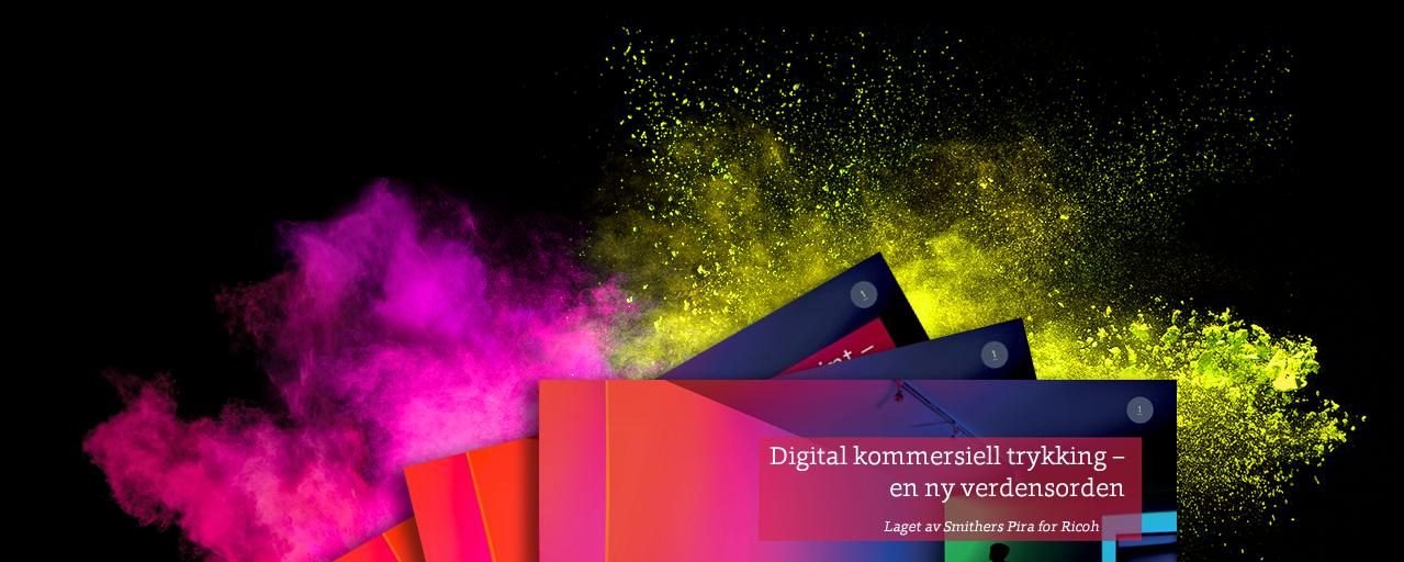 Digital kommersiell trykking – en ny verdensorden