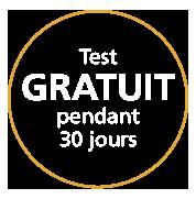 Test GRATUIT pendant 30 jours
